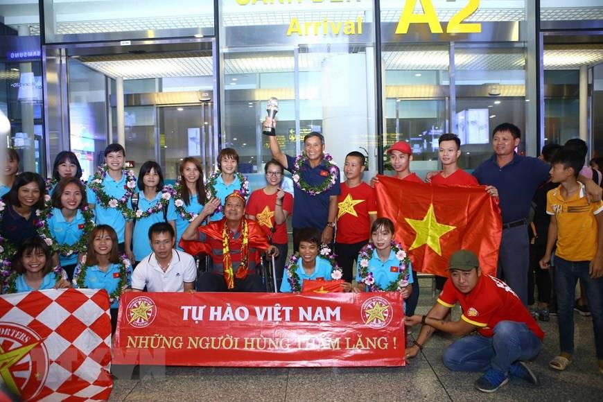 With this result, Vietnam remains undefeated in the tournament and only conceded one goal (Photo:VNA)