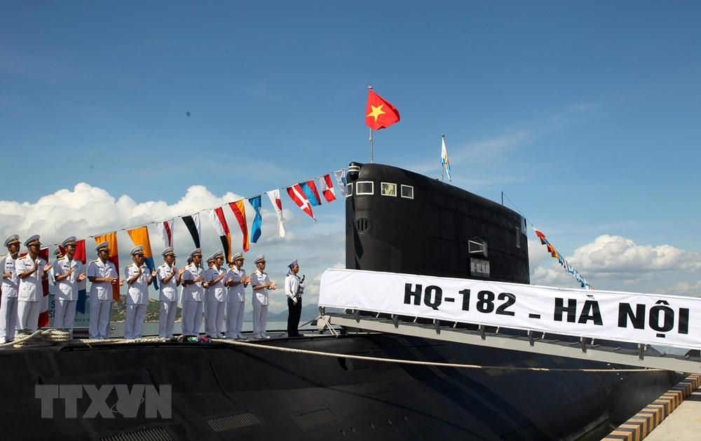 Submarine Brigade 189 was founded on June 20, 2011 and is based in Cam Ranh Naval Base in the central province of Khanh Hoa (Photo: VNA)