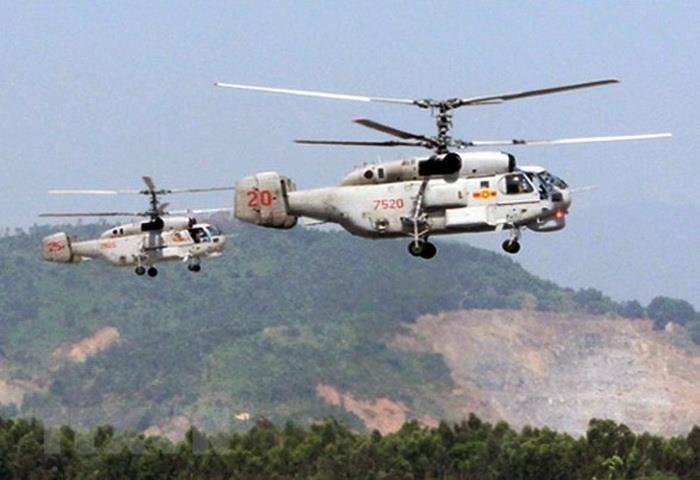 Naval helicopter Ka-28 (Photo: VNA)