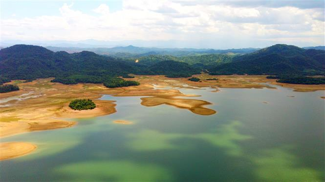 Ke Go Lake is part of the Nature Reserve, the largest of its kind in central Vietnam (Photo: VNA)