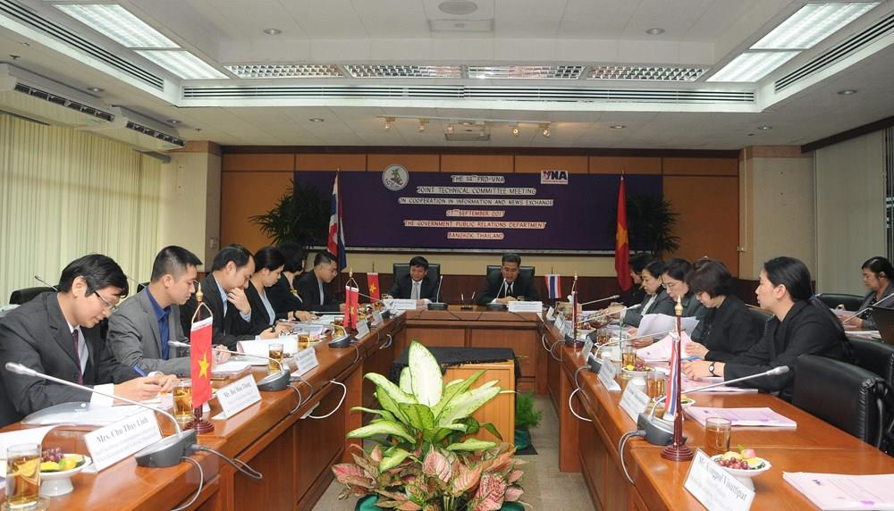 The 15th VNA - PRD Joint Technical Committee Meeting on Cooperation in Information and News Exchange , Ho Chi Minh City, December 4, 2018 (Photo: VNA)