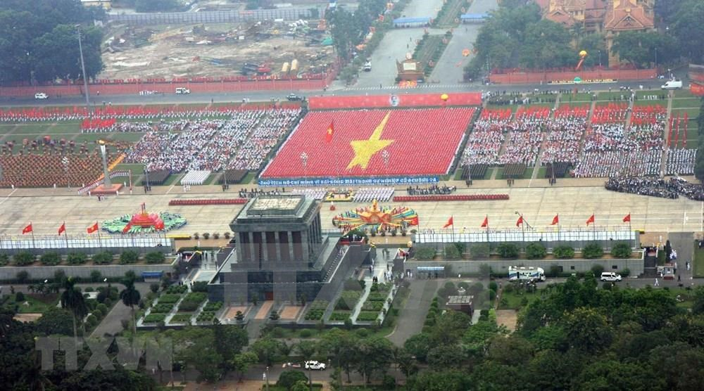 Over the last seven decades, Independence – Freedom – Happiness have always been the ardent desire of the Vietnamese people and a source of great encouragement for all to overcome hardships and adversity (Photo: VNA)