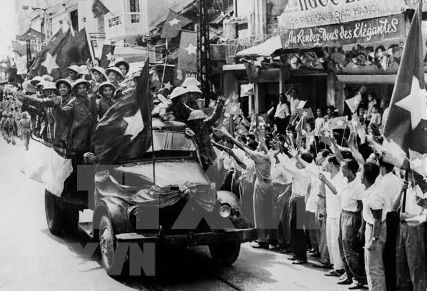 Hanoi capital is liberated, October 10, 1954 (Photo: VNA)