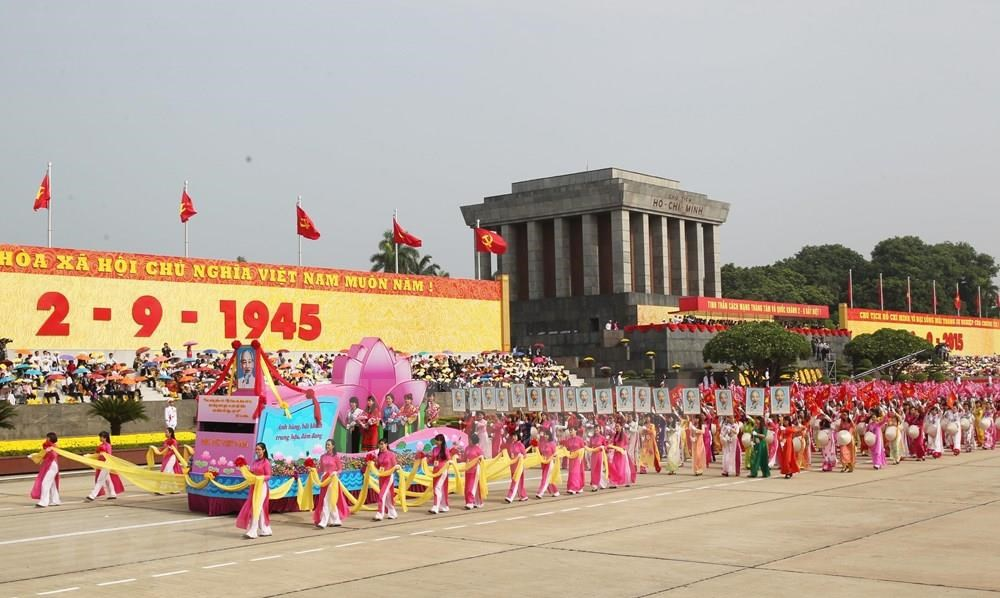 The journey of the past 74 years has been arduous but the invincible spirit and historical value of the August Revolution are always a source of strength for the entire Party and people to continue writing glorious historical pages (Photo: VNA)