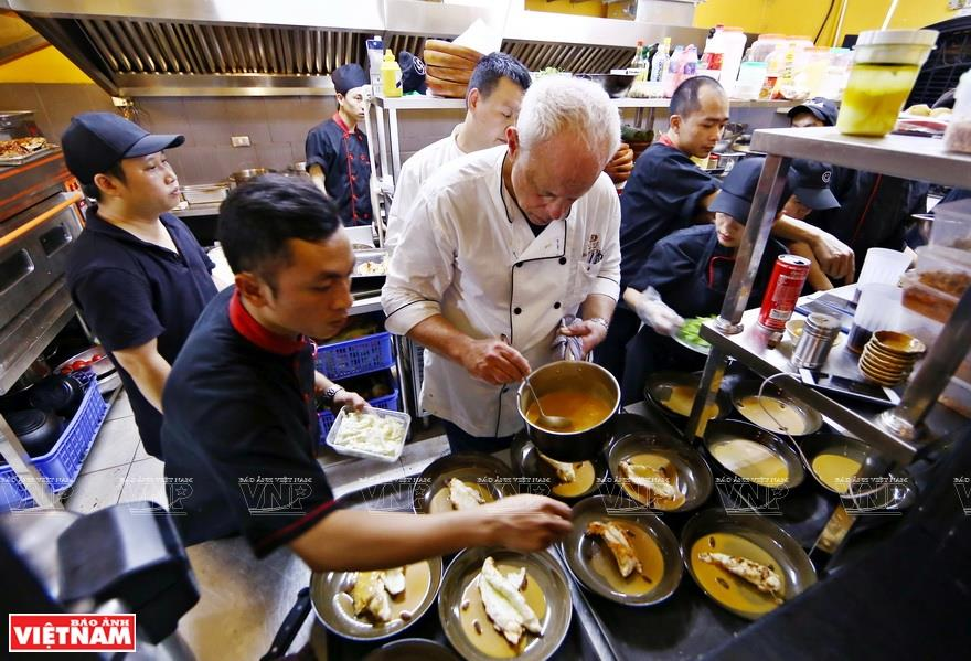 The British chef has inspired a love for Vietnamese food with his exceptional dishes (Photo: VNA)