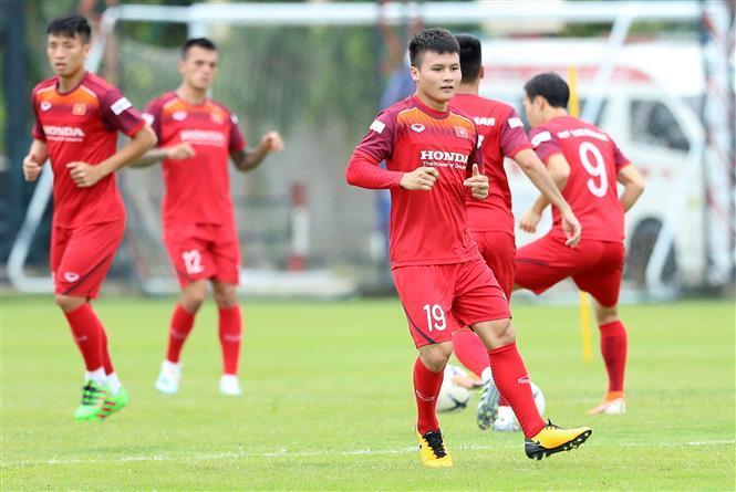 Midfielder Quang Hai (Photo: VNA)