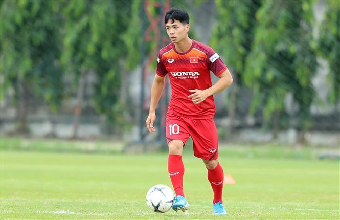 Striker Cong Phuong (Photo: VNA)