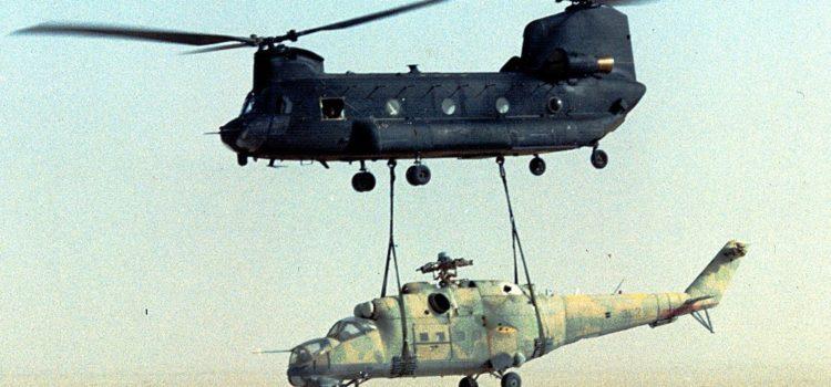 Chiến dịch táo bạo của CIA đánh cắp trực thăng tấn công Liên Xô