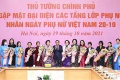 Thủ tướng: Việt Nam đã tạo được môi trường để phụ nữ khẳng định vị thế và đóng góp cho xã hội
