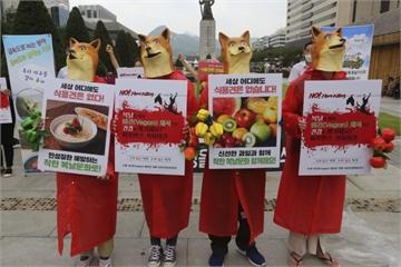 Tổ chức đám tang giả để phản đối 'ngày ăn thịt chó' tại Hàn Quốc