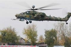 Xem Nga thử nghiệm 'Thợ săn đêm' Mi-28NM tại Syria