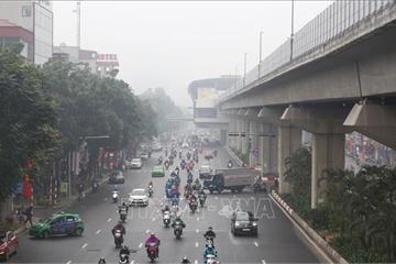 Không khí nhiều nơi ở Bắc Bộ ô nhiễm nặng, rất có hại với sức khỏe