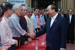 Chủ tịch nước Nguyễn Xuân Phúc được cử tri nơi cư trú giới thiệu ứng cử ĐBQH