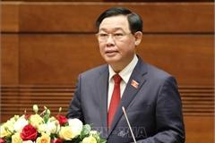 Lãnh đạo Quốc hội các nước chúc mừng tân Chủ tịch Quốc hội Vương Đình Huệ