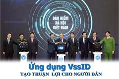 Khởi động ứng dụng VssID-bảo hiểm xã hội số