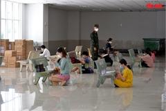 Lớp học online 'dã chiến' ở TP Hồ Chí Minh