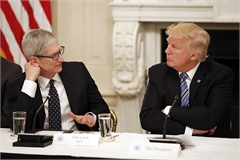 Lý do Apple không thể phát triển mạng 5G như Tổng thống Trump đề nghị