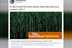 Báo Anh bị chỉ trích vì giật tít, lừa độc giả về khả năng viết bài của robot