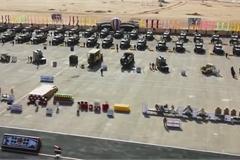 Xem quân đội Ai Cập ra quân, 'dàn trận' ứng phó dịch Covid-19