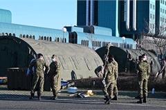 Xem quân đội các nước châu Âu dựng hàng loạt bệnh viện dã chiến