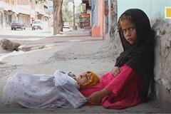 Tình cảnh thương tâm của trẻ em Afghanistan trong đại dịch Covid-19