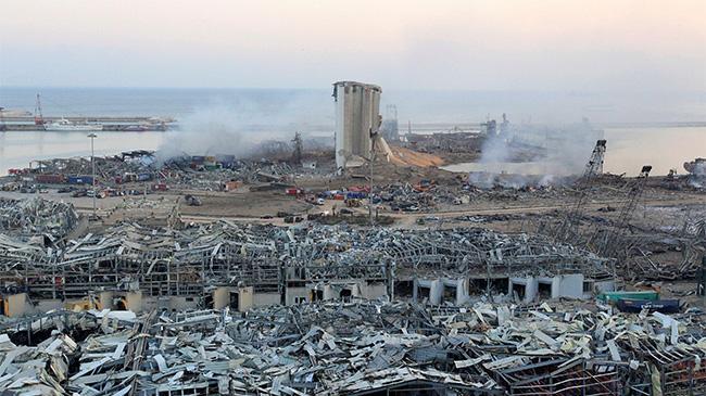 Một tháng sau vụ nổ Beirut, tìm thấy dấu hiệu sự sống trong đống đổ nát