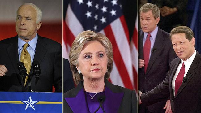 Những bài phát biểu nhận thua nổi tiếng trong lịch sử bầu cử Mỹ