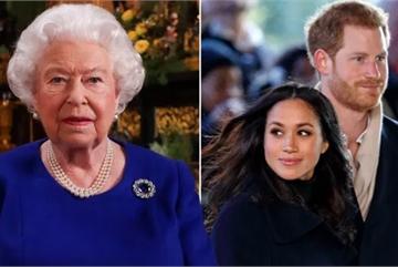 Nữ hoàng Anh xử lý 'việc nhà', báo giới đặt dấu hỏi về tiết lộ của Meghan