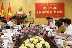 Hà Nam hoàn thiện Chương trình hành động thực hiện Nghị quyết Đại hội Đảng