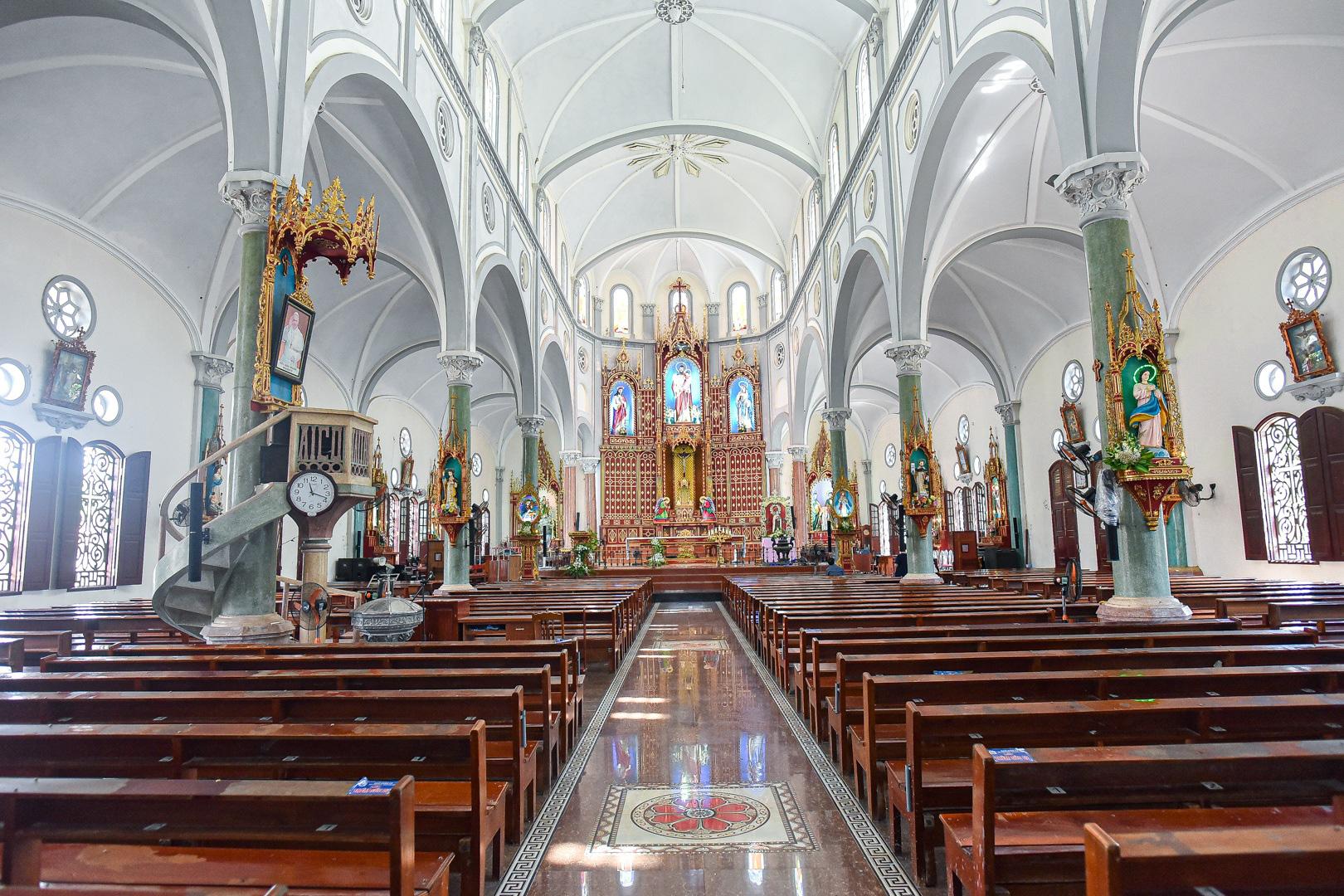 Đền Thánh Sa Châu - nhà thờ Nam Định đẹp uy nghi như ở trời Âu - Ảnh 2.