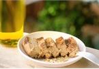 Bánh chuối nướng yến mạch làm bằng nồi cơm điện cực kì đơn giản