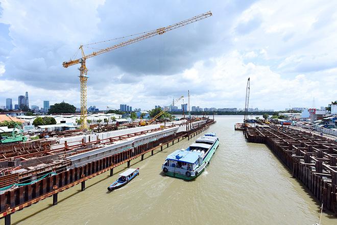 Ảnh nhìn từ trên cao dự án chống ngập 10.000 tỷ đồng ở Sài Gòn - Ảnh 11.