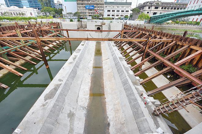 Ảnh nhìn từ trên cao dự án chống ngập 10.000 tỷ đồng ở Sài Gòn - Ảnh 14.