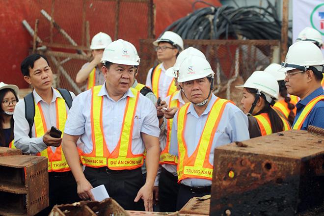 Ảnh nhìn từ trên cao dự án chống ngập 10.000 tỷ đồng ở Sài Gòn - Ảnh 16.