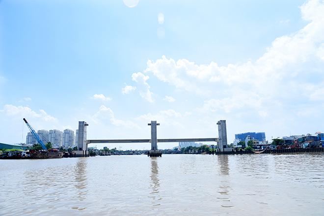 Ảnh nhìn từ trên cao dự án chống ngập 10.000 tỷ đồng ở Sài Gòn - Ảnh 8.
