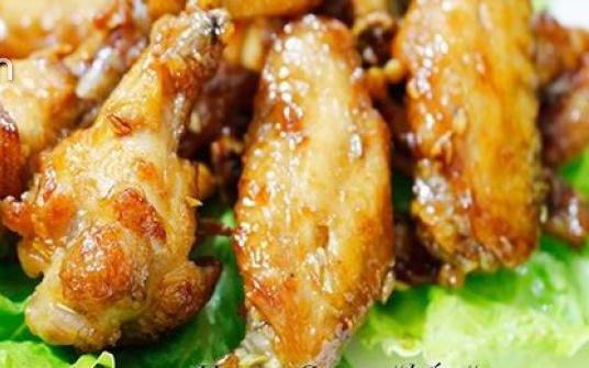 Thịt lợn đắt, đổi món bằng cánh gà chiên mắm giòn, ngon, cả nhà đều thích