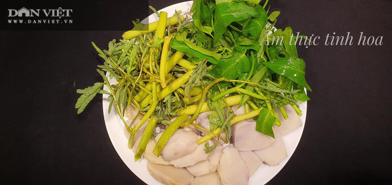 Món canh cua khoai sọ cho bữa cơm ngày hè - Ảnh 1.