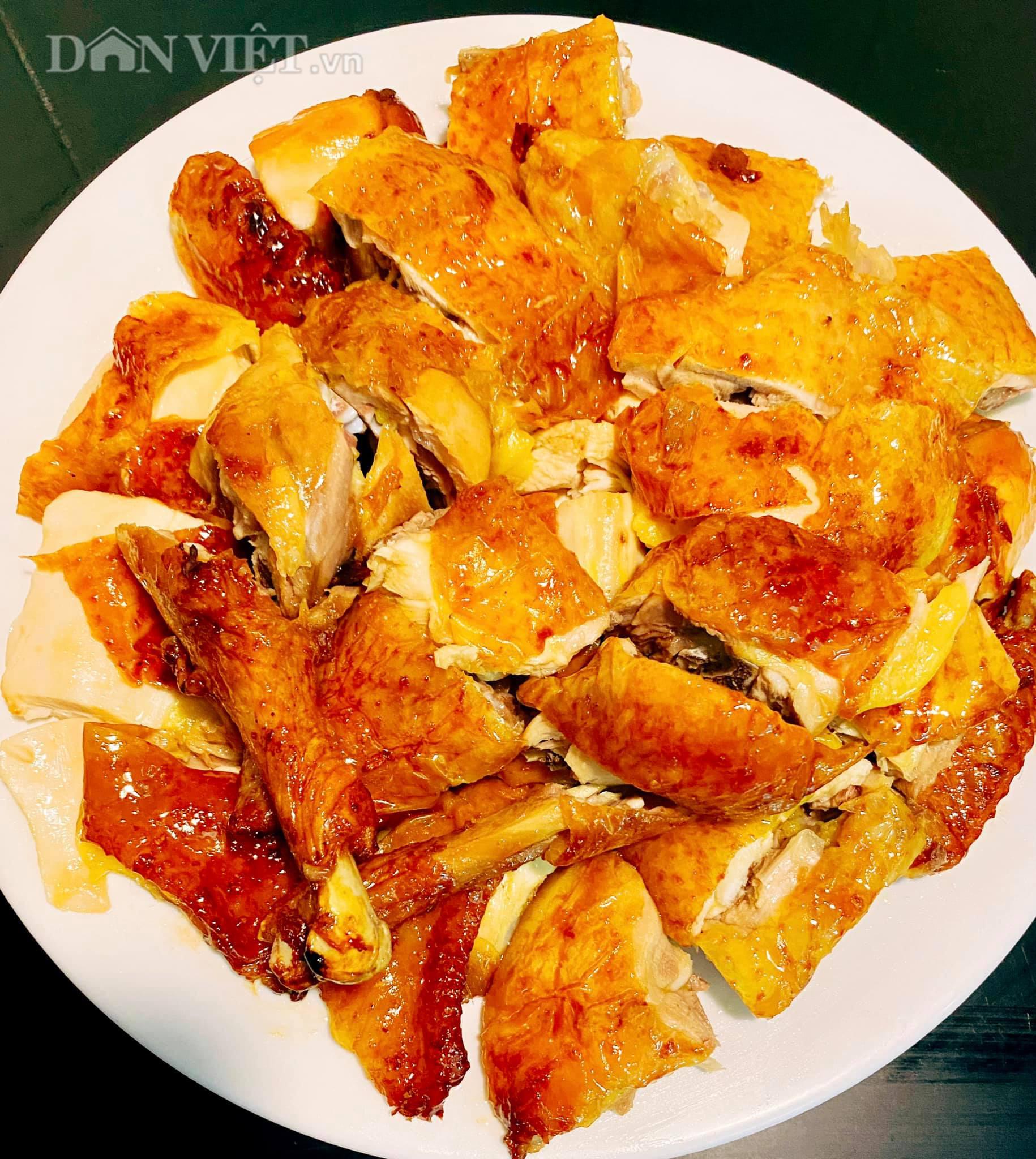 Cách làm gà nướng mật ong đậm đà giòn thơm bằng nồi chiên không dầu - Ảnh 3.