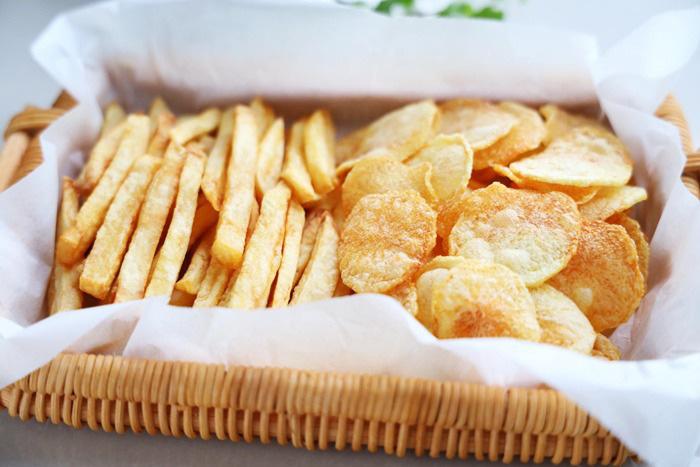Mẹo làm khoai tây chiên ngoài giòn, trong mềm, vàng ươm, thơm phức - Ảnh 8.