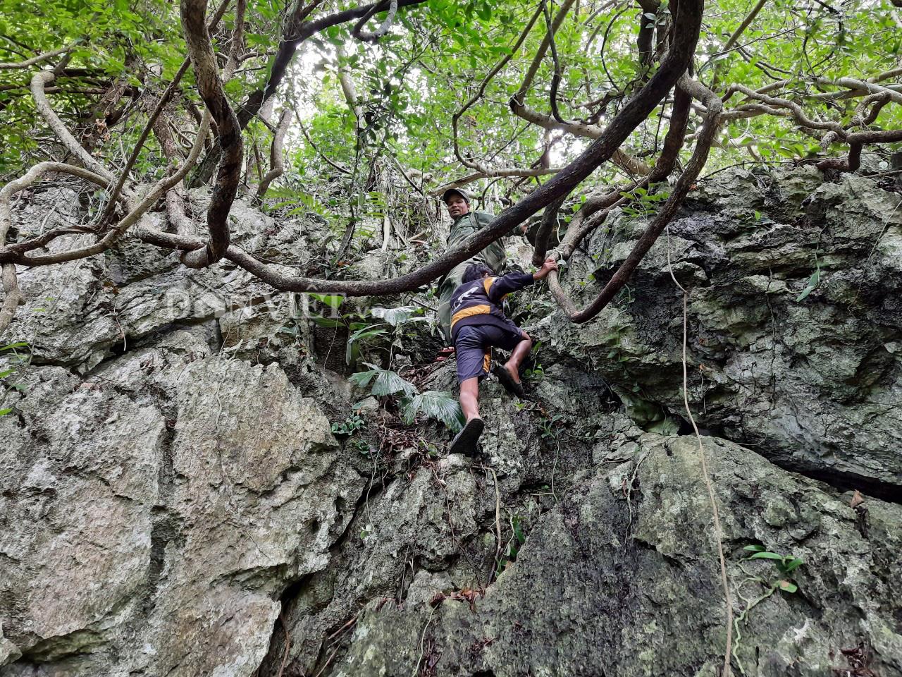 Quảng Trị: Phát hiện hang động mới, đẹp lung linh ở thôn Trỉa - Ảnh 1.