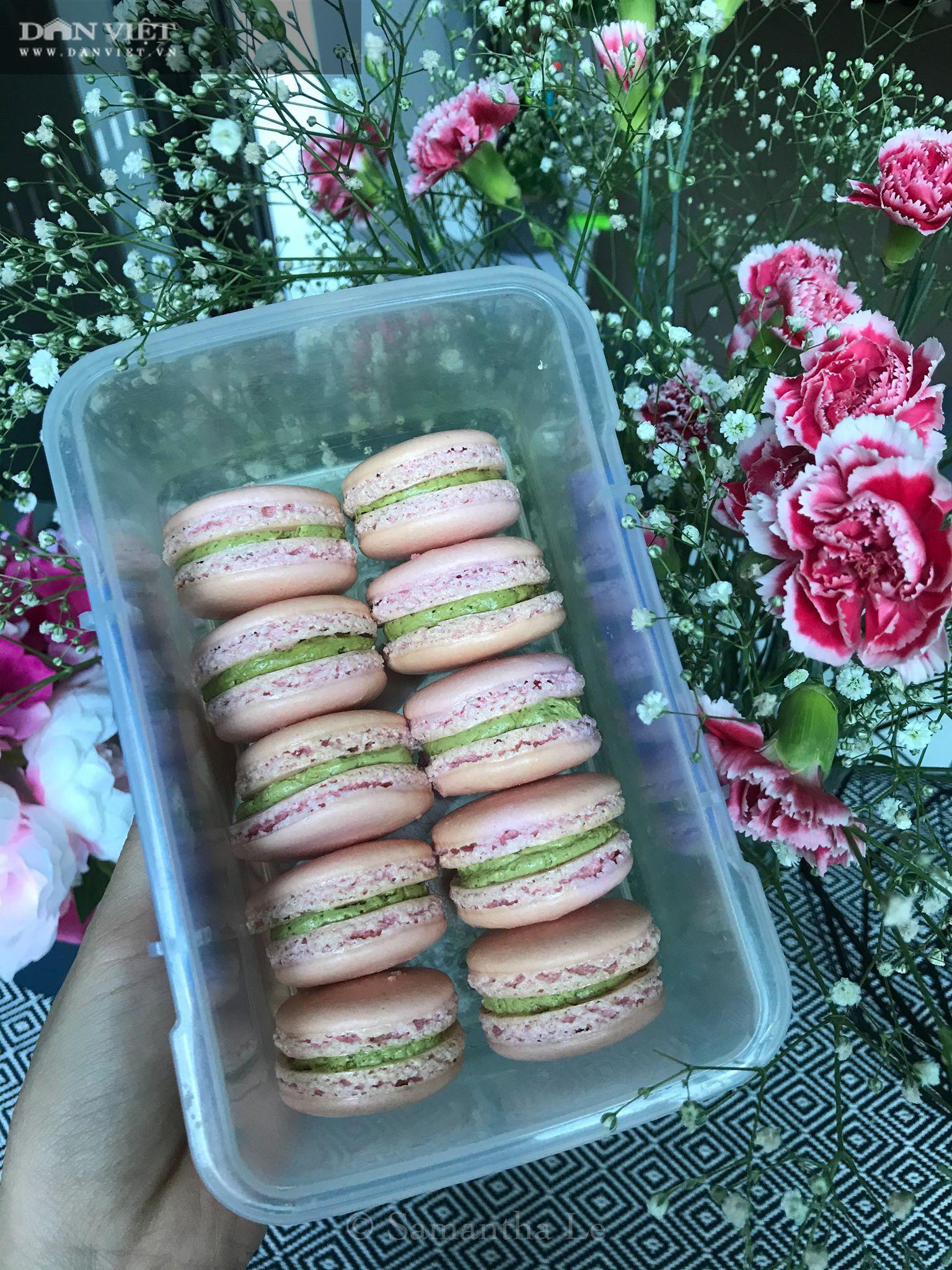 Cách làm món bánh Macaron chuẩn kiểu Pháp - Ảnh 3.