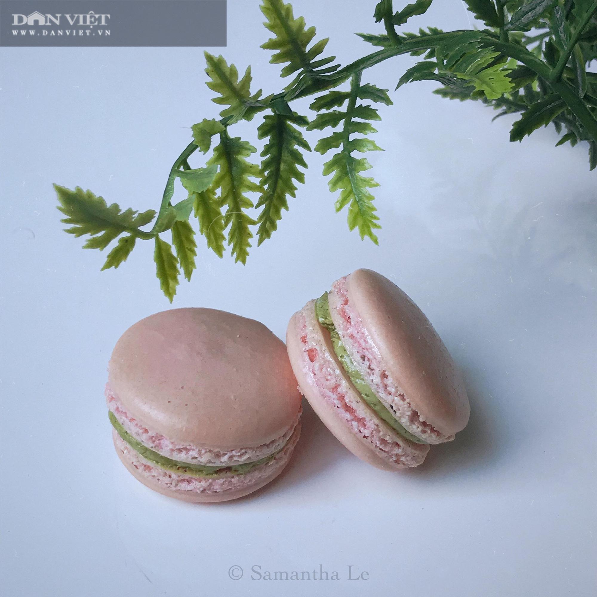 Cách làm món bánh Macaron chuẩn kiểu Pháp - Ảnh 2.