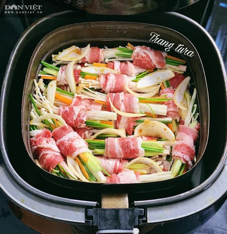 Gợi ý 3 món ngon từ thịt bò chế biến bằng nồi chiên không dầu - Ảnh 2.