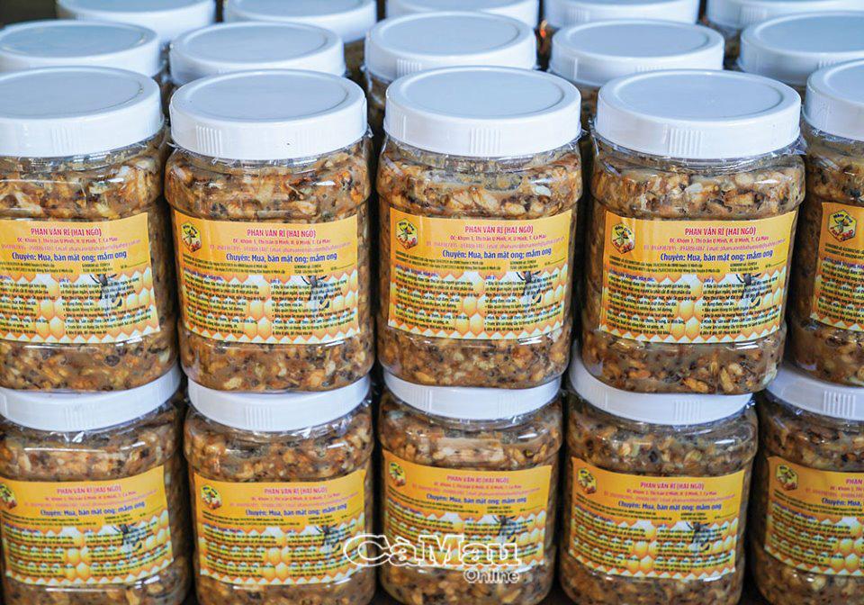 U Minh có lắm đặc sản từ ong nhưng có bao người biết tới thứ đặc sản bốc mùi nhất trong số đó: mắm ong - Ảnh 3.