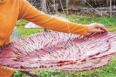Khô cá kèo đỏ - đặc sản hiếm có ở xứ Tân Ân