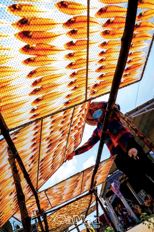 Khô cá kèo đỏ - một trong những đặc sản độc, lạ, hiếm ở xứ Tân Ân - Ảnh 3.