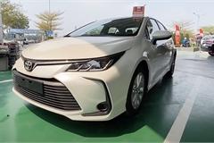 Toyota Corolla Altis 2022 xuất hiện ở đại lý Việt Nam, người dùng tò mò về nguồn gốc