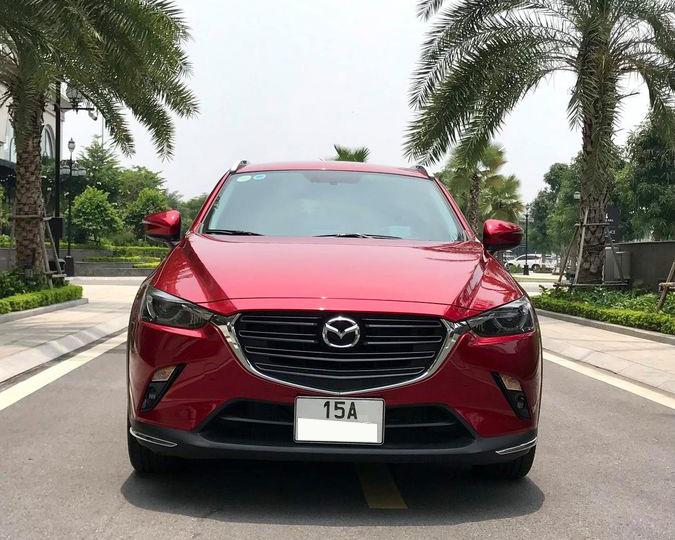 Mazda CX-3 siêu lướt đầu tiên lên sàn xe cũ, người dùng lỗ nguyên tiền ra biển - Ảnh 2.
