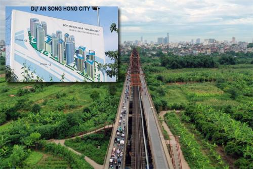 """Siêu dự án Sông Hồng City sau 27 năm vẫn """"dậm chân tại chỗ"""""""