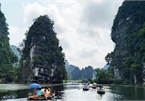 The serenity of Trang An scenic landscape complex